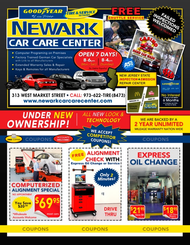 Auto Care Center >> Coupons Newark Car Care Center