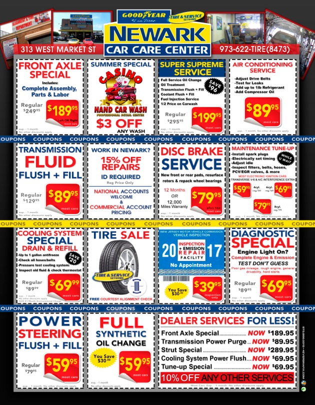 Car care clinic coupons